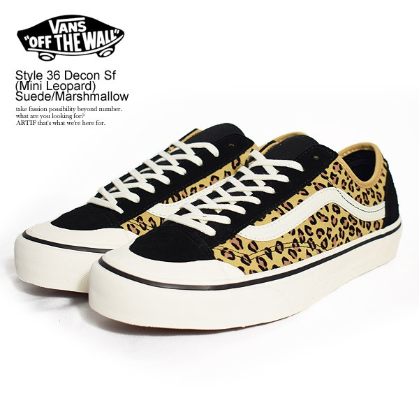 VANS バンズ Style 36 Decon Sf (Mini Leopard) S...