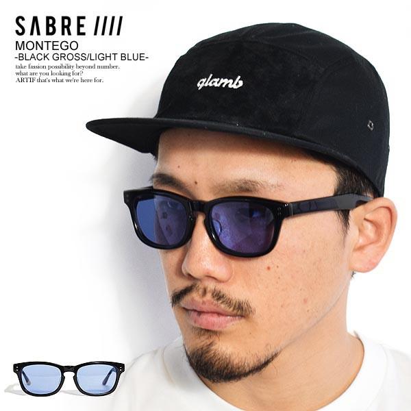 SABRE セイバー MONTEGO -BLACK GROSS/LIGHT BLUE...