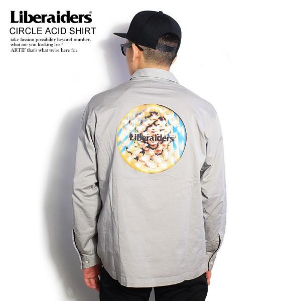 Liberaiders リベレイダース CIRCLE ACID SHIRT ...