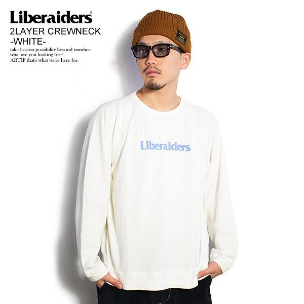 Liberaiders リベレイダース 2LAYER CREWNECK -WH...
