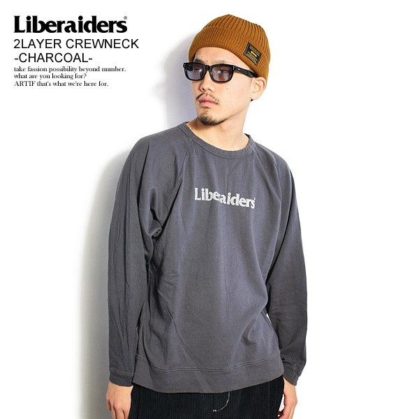 Liberaiders リベレイダース 2LAYER CREWNECK -CH...