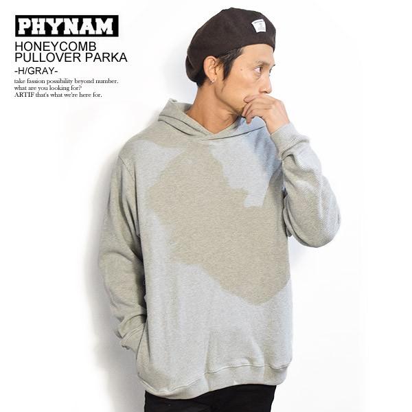 PHYNAM ファイナム HONEYCOMB PULLOVER PARKA -H/...