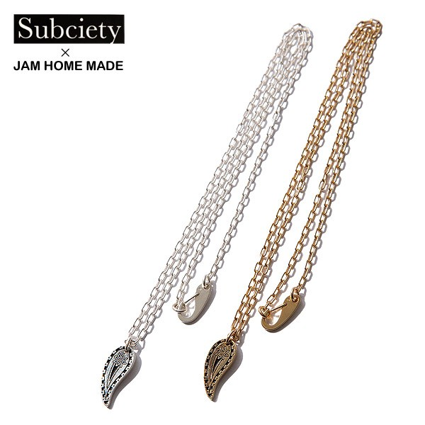 SUBCIETY サブサエティ ×JAM HOME MADE NECKLACE...