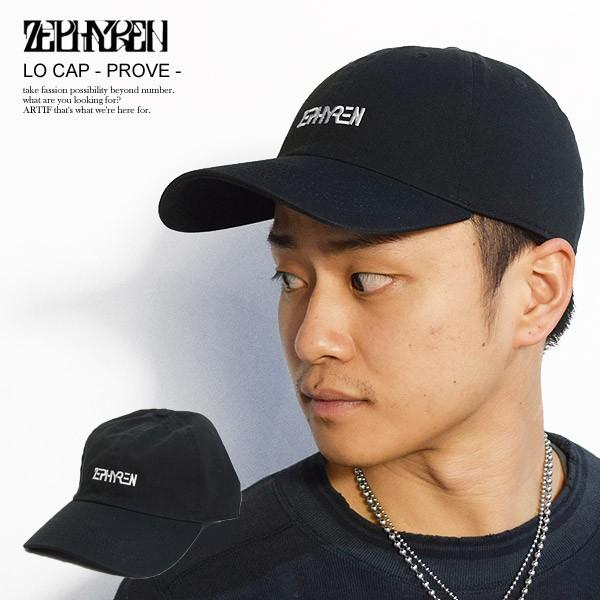 ZEPHYREN ゼファレン LO CAP -PROVE- メンズ 帽子...
