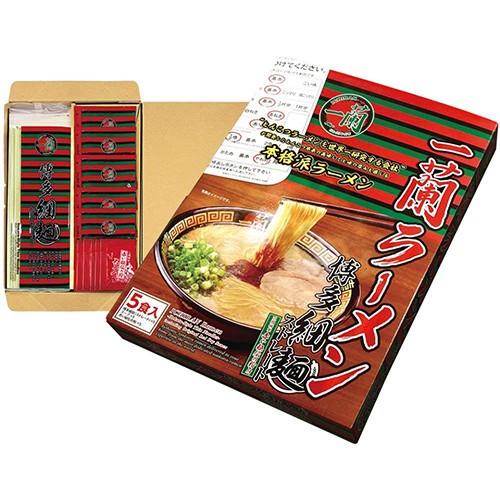 一蘭 ラーメン 博多細麺 ストレート 一蘭特製赤い...
