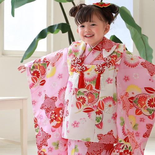 七五三 着物 3歳 セット 女の子 販売 選べる9柄 ...