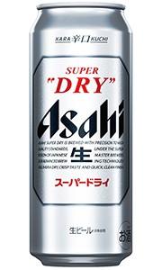 アサヒ スーパードライ 生ビール 500ml缶 バ...