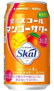 サッポロ 愛のスコールマンゴーサワー 340ml缶...