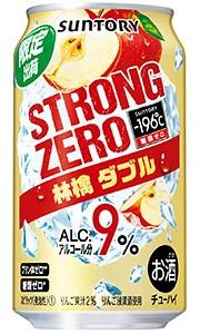 サントリー −196℃ ストロングゼロ 林檎ダブル...