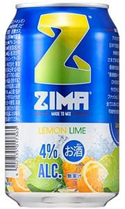 ZIMA ジーマ レモン&ライム 330ml缶 バラ 1...