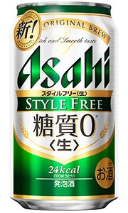 アサヒ スタイルフリー<生> 糖質ゼロ 350ml...