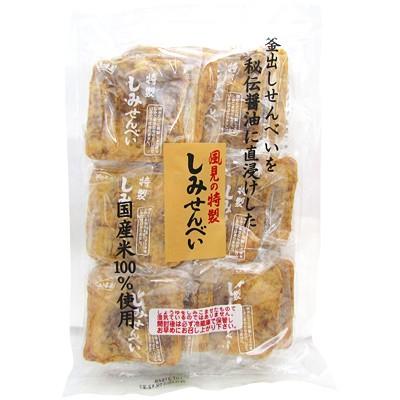 風見米菓 特製しみせんべい 12枚入り 1袋【個...
