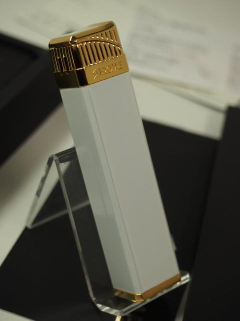 SAROMEサロメ  電子ライター/ ホワイト/ゴールド ...