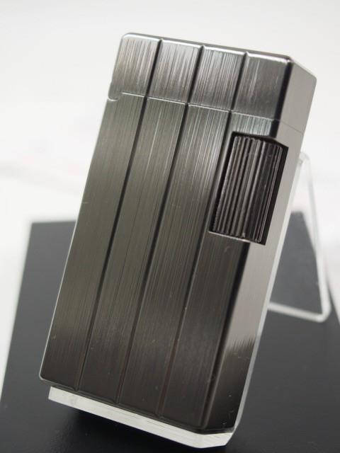 日本製 SAROMEサロメ・ガスライター #SD1-48 黒ニ...