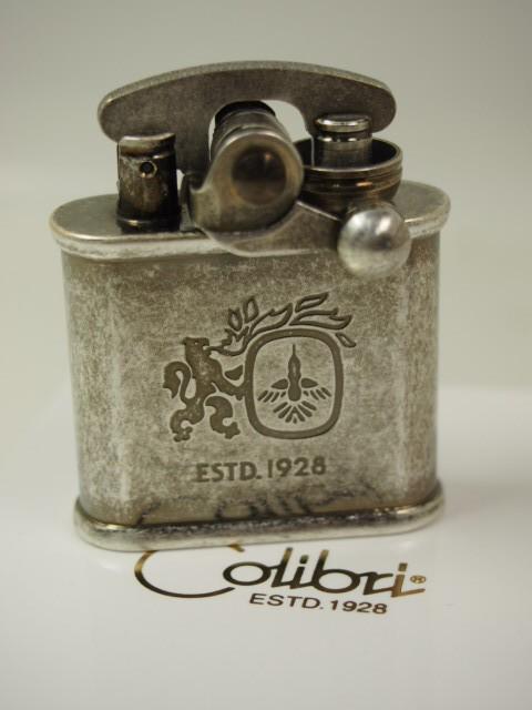 Colibri コリブリ 革巻き オイルライター308-0032...