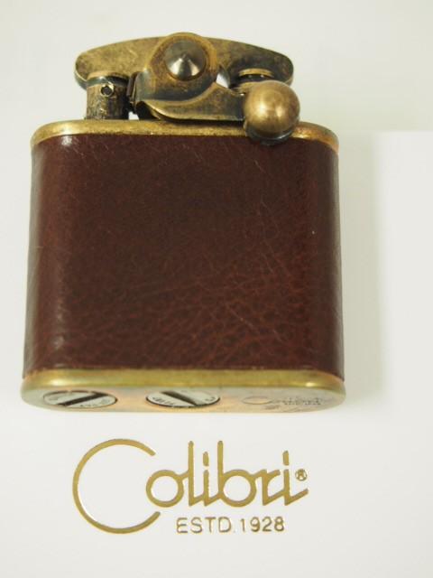 Colibri コリブリ 革巻き オイルライター308-0033...