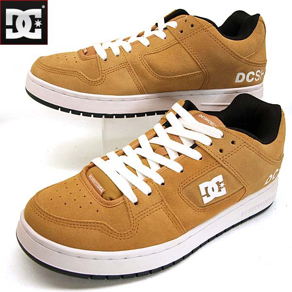 ディーシーシューズ DC Shoes MANTECA SE 184024 XCKW マンテカ 茶 スニーカー メンズ