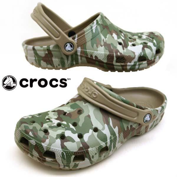 [送料無料]クロックス crocs classic graphic II ...