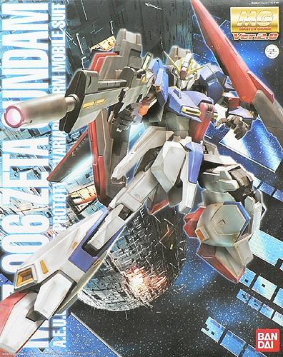 4543112395979:MG 1/100 MSZ-006 ゼータガンダム Ver.2.0 (機動戦士Zガンダム)(再販)【新品】 ガンプラ マスターグレード プラモデル