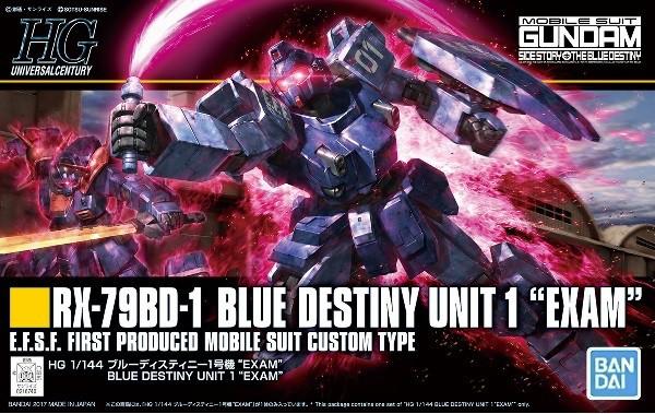 4573102582683:HGUC 1/144 (207)RX-79BD-1 ブルー...