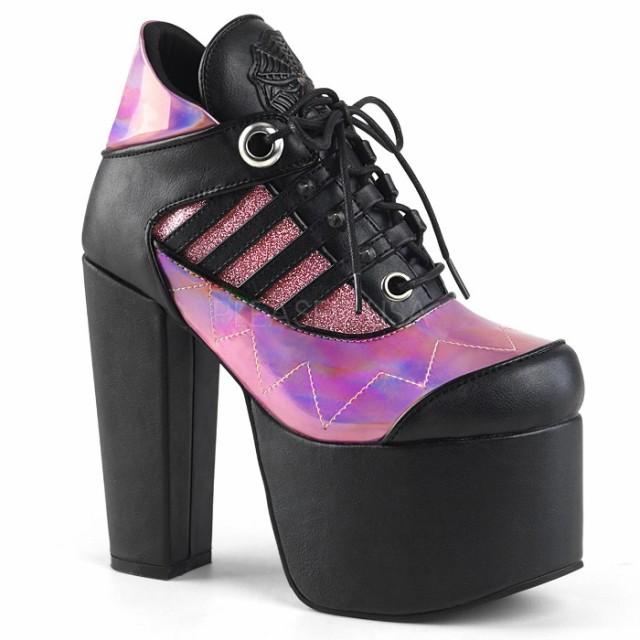 取寄せ靴 DEMONIA デモニア ブーティ 14cm ヒール...