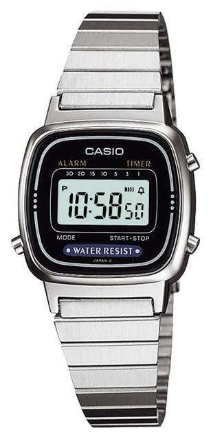 カシオ CASIO 腕時計 スタンダード LA-670WA-1JF ...