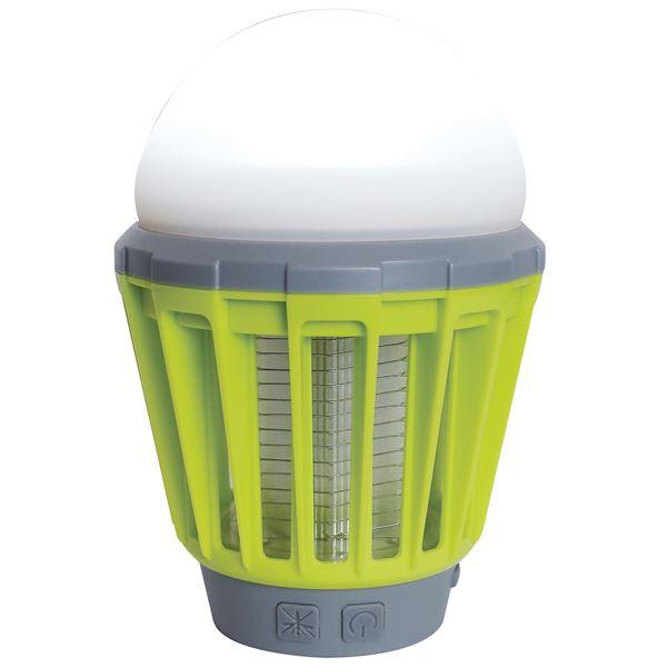 殺虫機能付き LED ランタン/照明器具 〔ライムグ...