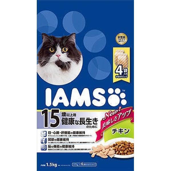 (まとめ買い)アイムス シニア猫用 15歳以上用 ...
