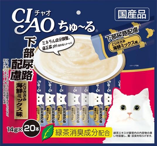 いなばペットフード CIAO ちゅ〜る 下部尿路配慮 ...