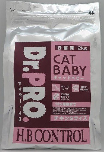 ニチドウ Dr.PRO キャットベビー 2kg
