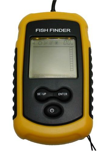 携帯型魚群探知機「大漁君デラックス」