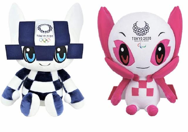 【2体セット】東京2020 オリンピック パラリンピ...