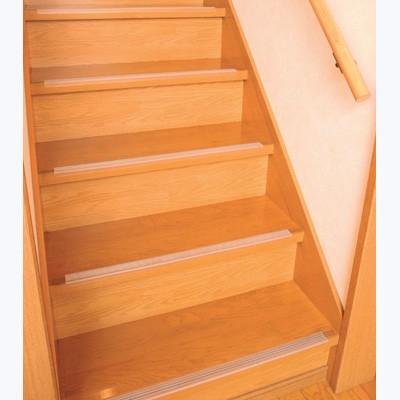 階段の安全対策に 透明階段滑り止め 14本入り 日...