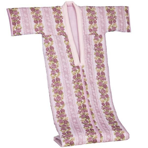 綿ガーゼ花柄かいまき 寝具 着る毛布 FL-1615 か...