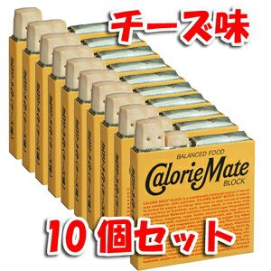 カロリーメイトブロック チ−ズ味 1箱4本入×10個...