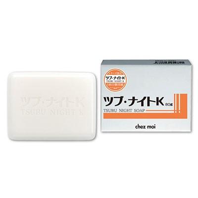 【ツブ・ナイトK ソープ 80g】6個で送料無料、9個...