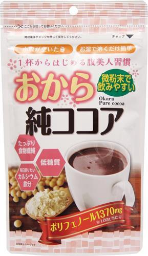 【味源 おから純ココア 110g×10個セット】健康食...
