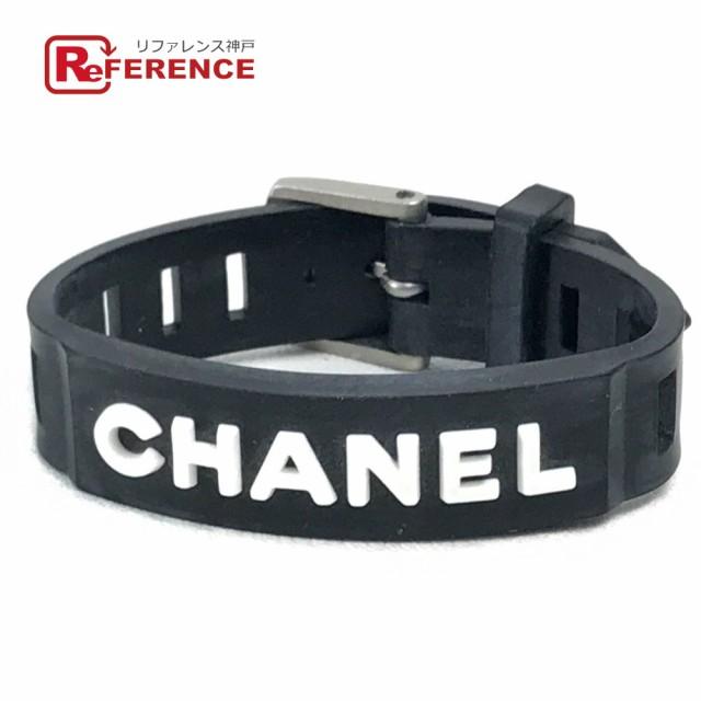 あす着 CHANEL シャネル ロゴ ベルト 99P ブレス...