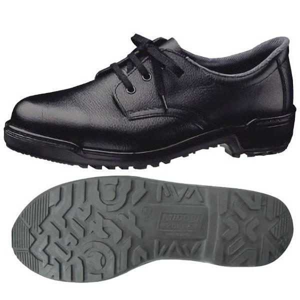 ミドリ安全 安全靴 MZ010J ブラック 紳士靴 作業 ...