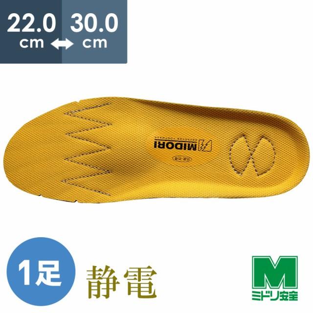 靴備品 G3PEカップインソール静電 交換用 中敷き