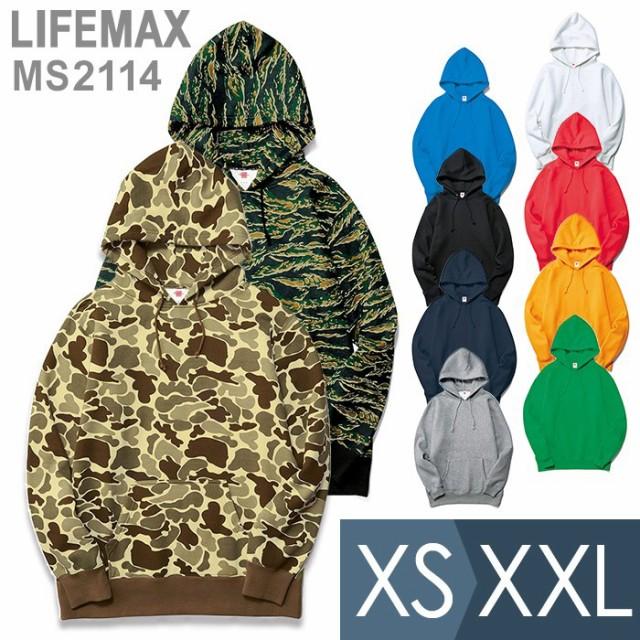 LIFEMAX ライフマックス 10オンスプルオーバーパ...