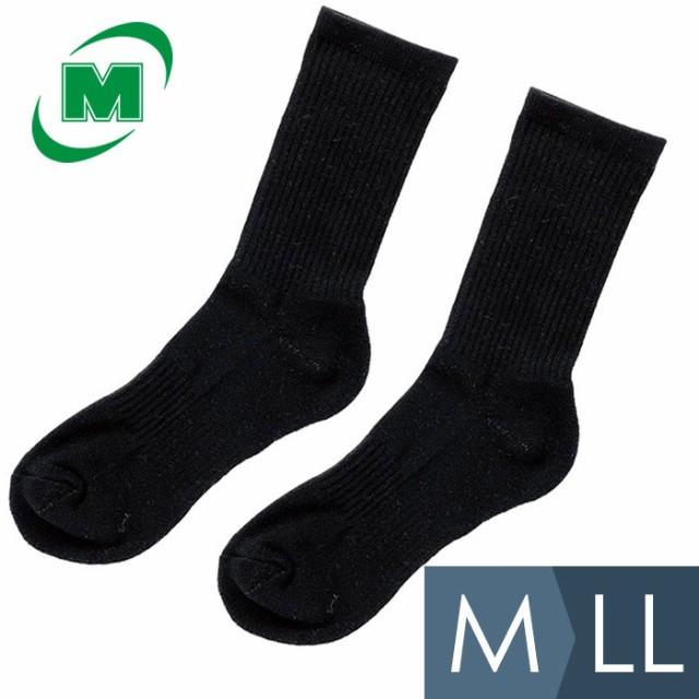 ミドリ安全 ハードタイプ靴下 ブラック M〜LL 作...