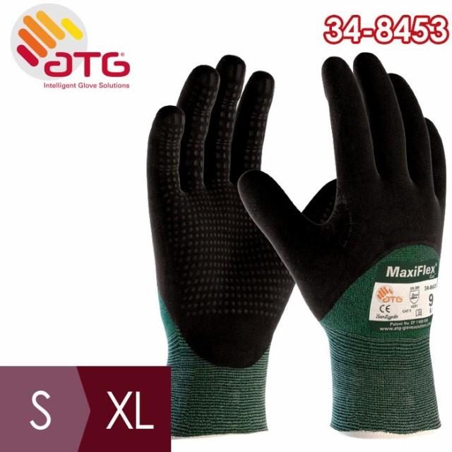 ATG 耐切創性精密作業手袋 MaxiFlex Cut 34-8453 ...