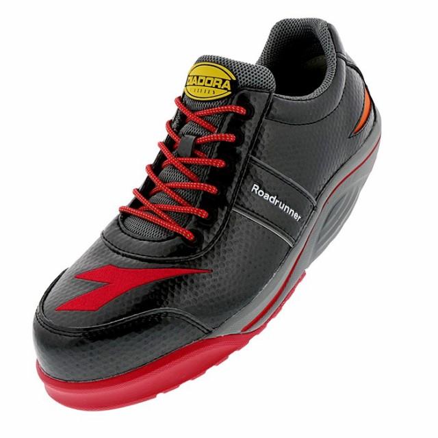 ディアドラ安全靴 ロードランナー ブラック RR-22...