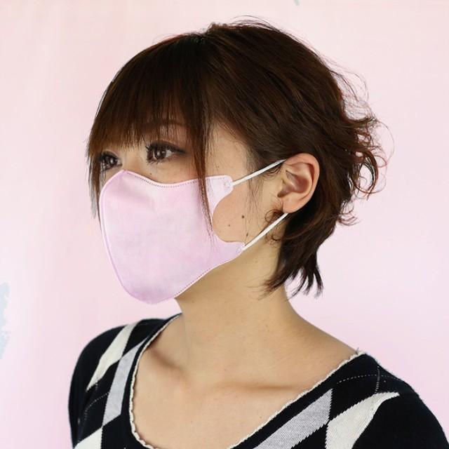 NTC 立体マスク ピンク(お得用50枚入)使い捨て ...