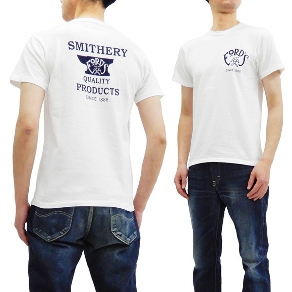 フェローズ Tシャツ 19S-PTJ3 鍛冶屋柄 Pherrows ...