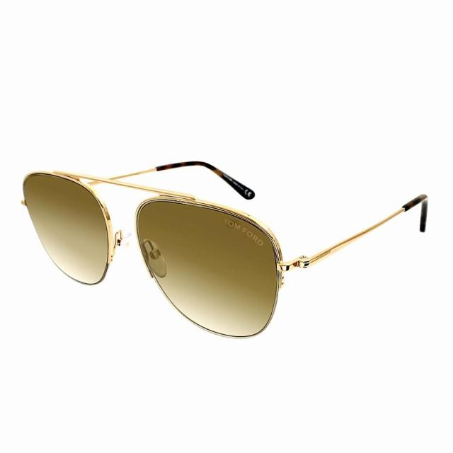トムフォード サングラス Tom Ford Sunglasses FT0667 30G 58 メンズ ft0667-30g-58