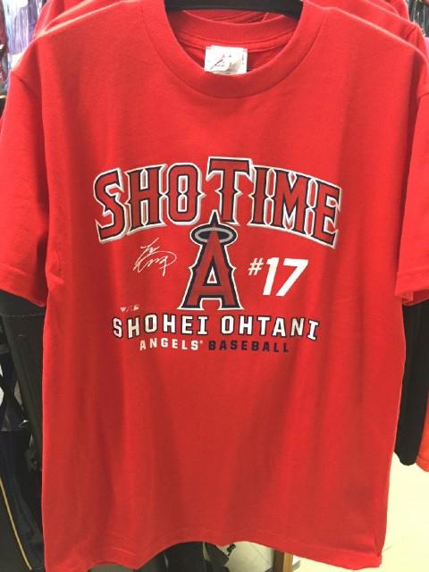 エンゼルス 大谷 Tシャツ MM08-LA-8001