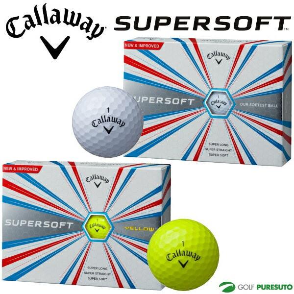 【即納!】キャロウェイ スーパーソフト ゴルフボ...