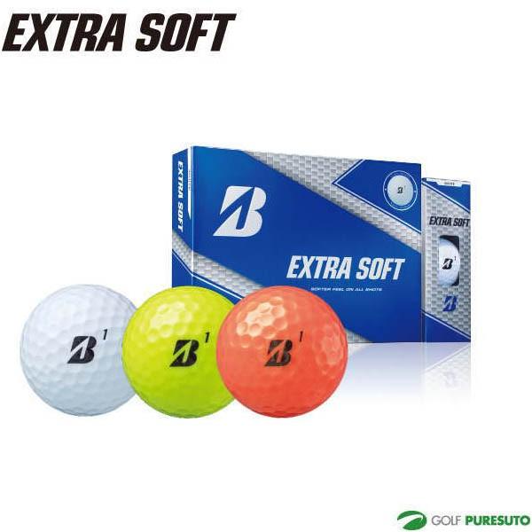 ブリヂストンゴルフ エクストラソフト ゴルフボー...